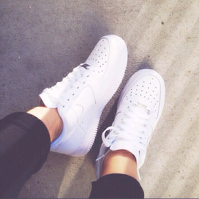 Nike Air Force 1 White Tumblr