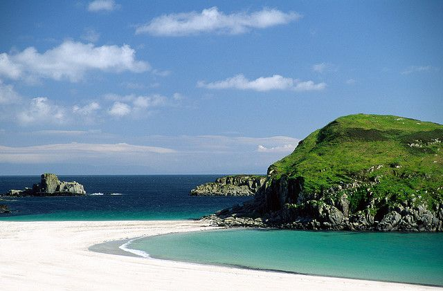 Kilvickeon Beach, Isle of Mull (tidal Island)