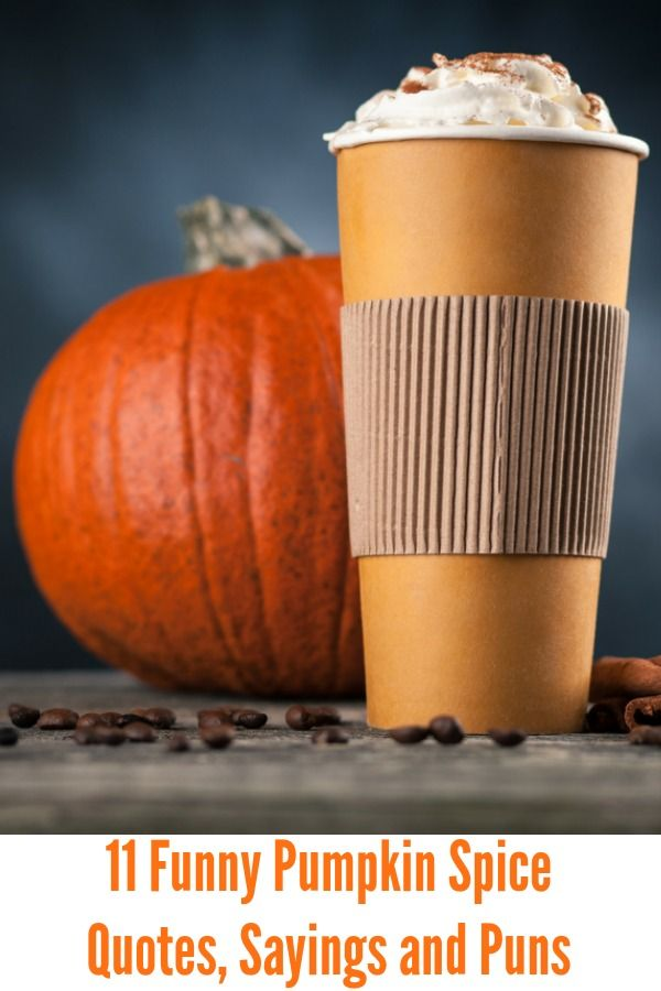 11 Funny Pumpkin Spice Quotes Sayings And Puns Pumpkin Spice Quotes Spice Quotes Pumpkin Spice