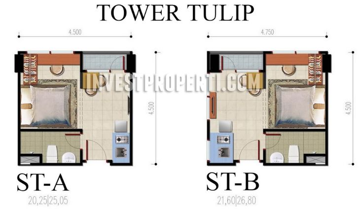 Studio Type B-Residence BSD Apartment