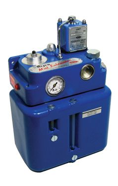 MIST LUBRICATOR Pressurised Dispensing System  Features:  Robust and compact, stand alone lubricator  Integral reservoir, air filter, pressure control and mist generator  Ideal unit for cutting applications in the machine tool industry.