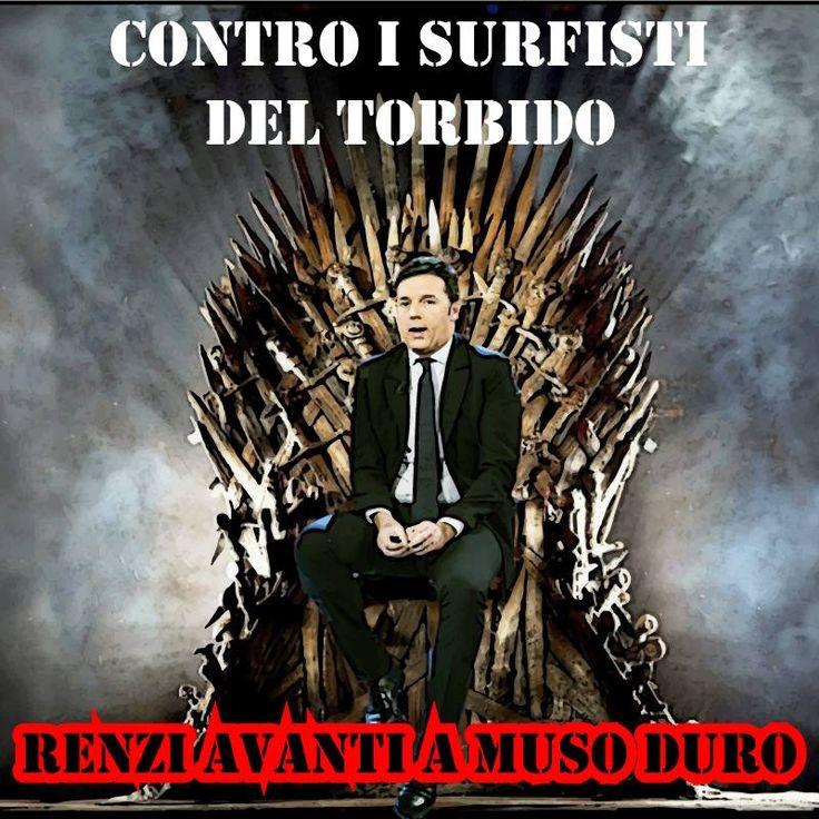 Nel pieno delle montature mediatico giudiziarie è il momento della forza, non della simpatia. Non si può piacere a tutti. Renzi e la sua cla...