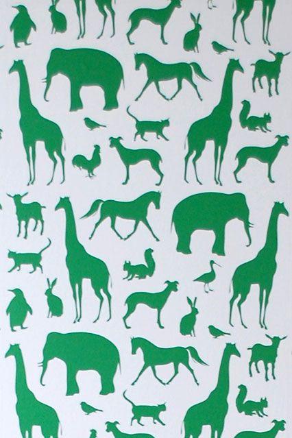 Animal Farm - Kids Wallpaper Ideas & Designs (houseandgarden.co.uk)