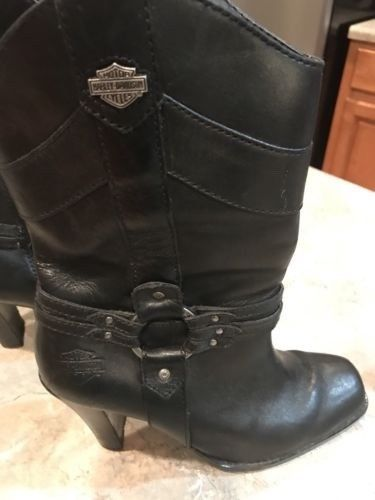 Womens Harley Davidson Boots size 7.5  | eBay