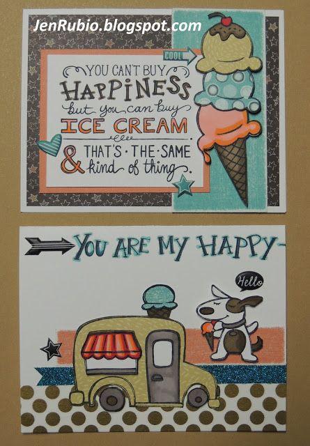 Jen's Jewel Box: June Stamp of the Month Blog Hop! #ChalkItUp #Hopscotch #ShinHan