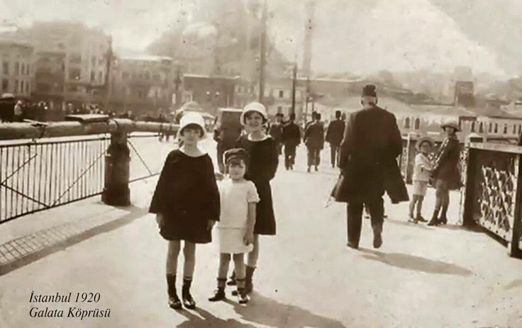 GALATA KÖPRÜSÜ - 1920