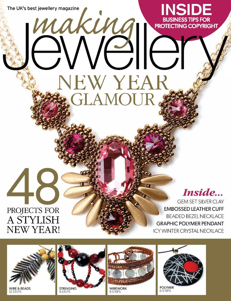 113 best beading magazines images on pinterest bead patterns making jewellery january 2015 fandeluxe Images
