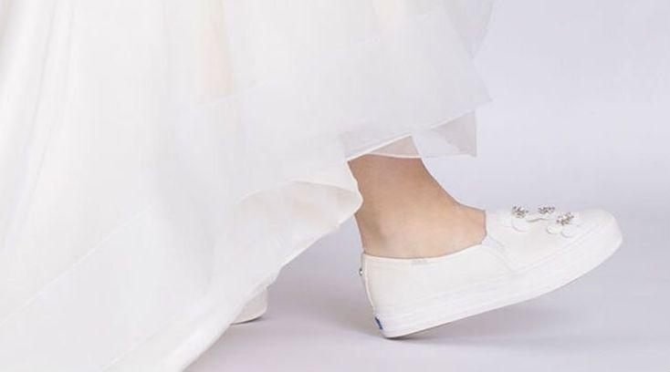 Would you wear wedding sneakers?
