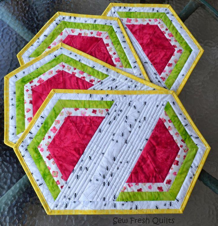495 Best Mug Rug Summer Images On Pinterest Mini Quilts
