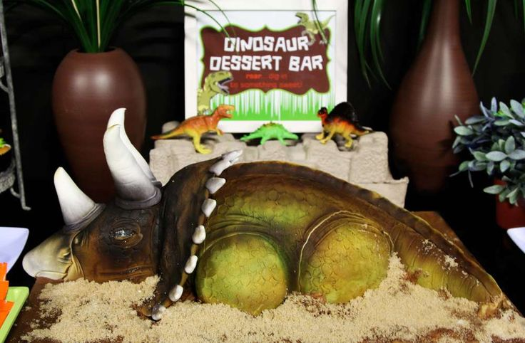 Dinosaurs Birthday Party Ideas | Photo 1 of 16