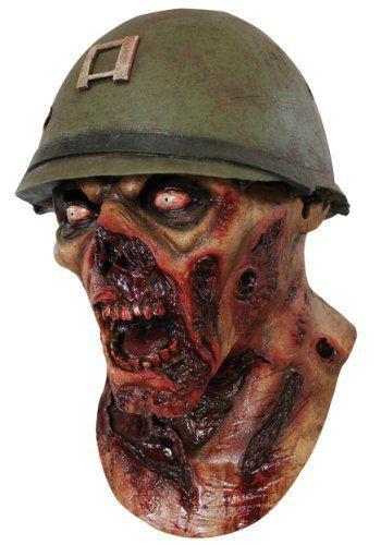 Captain Lester Zombie Mask