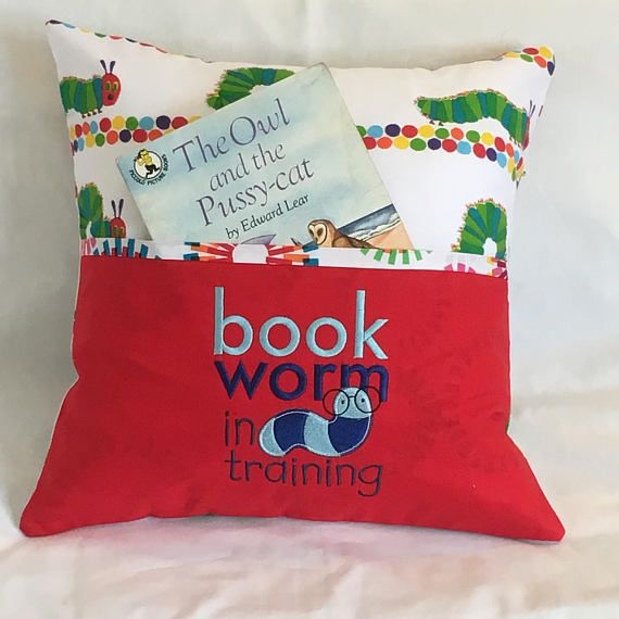 Reading Pillow cover / Cushion cover / Pocket pillow