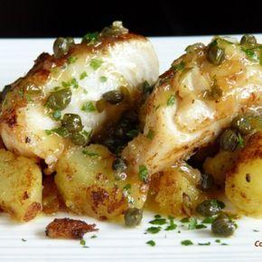 Cabillaud câpres et pommes de terre