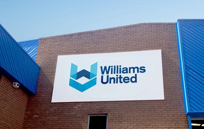 Williams United signage