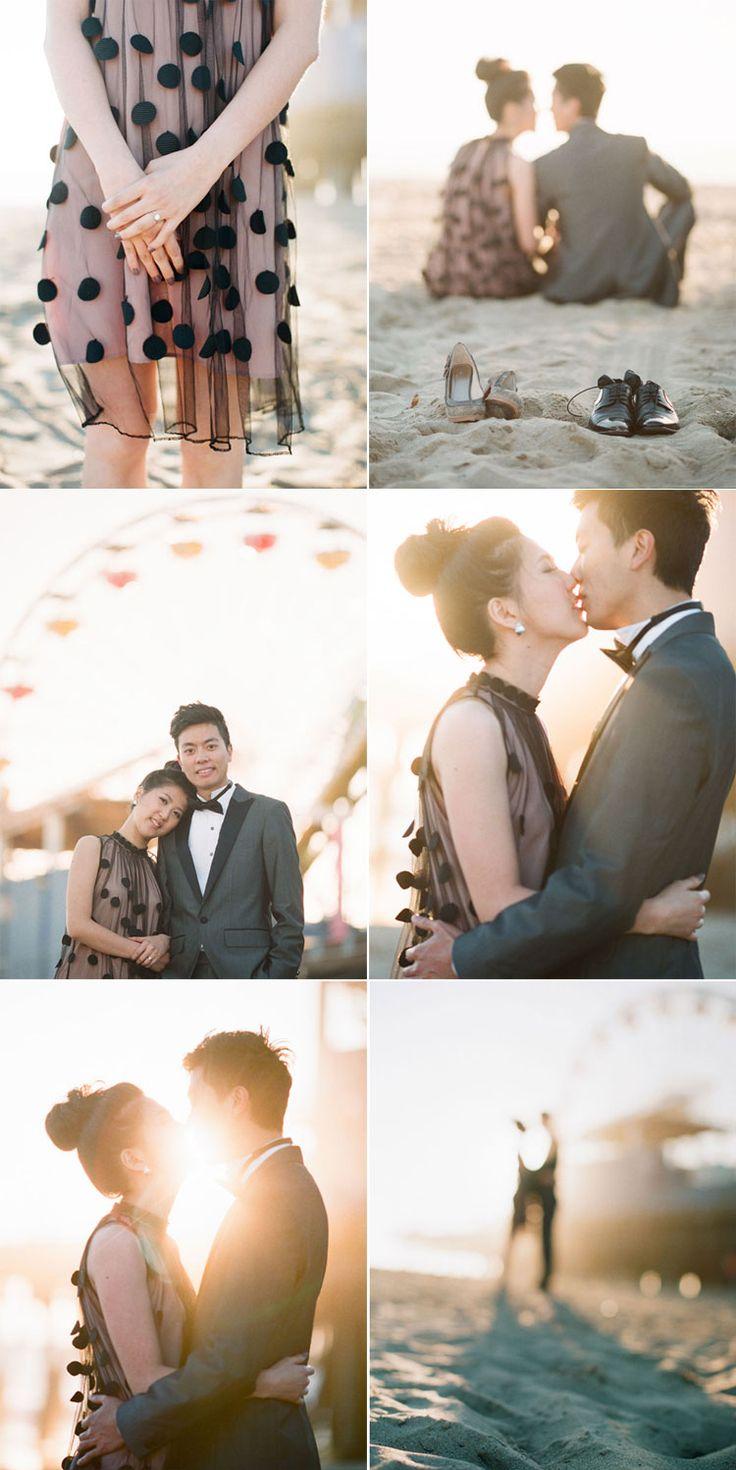 beach engagement photography | peggy   antonio