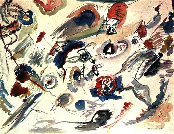 Василий Кандинский «Первая абстрактная акварель»