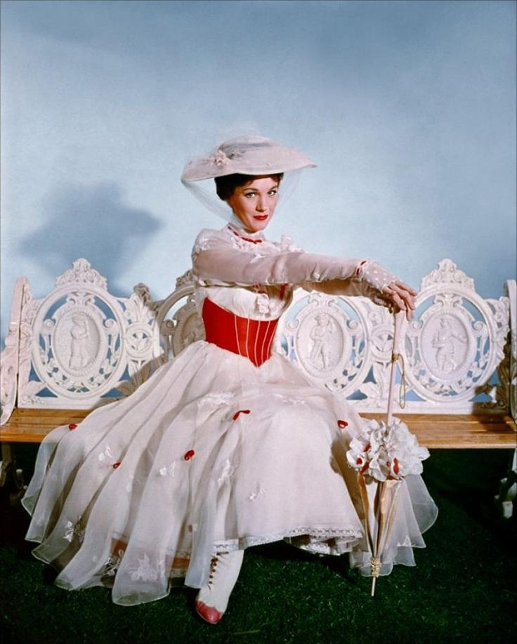 Julie Andrews - Mary Poppins                                                                                                                                                                                 More