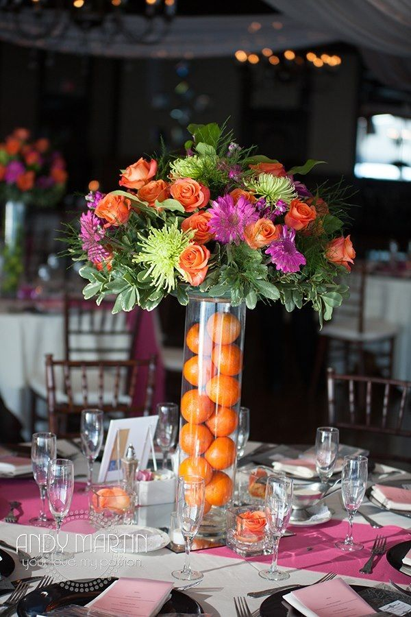 Tropical Wedding Centerpieces #weddingcenterpieces # ...