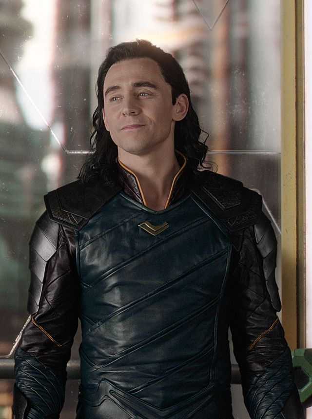 "His in this picture tho!! ""Yes it is me, Loki. I'm hot and way better than Thor."""