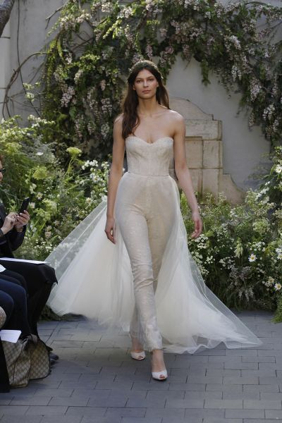 Vestidos de novia escote corazón 2017: 30 magníficos diseños que te harán soñar Image: 26