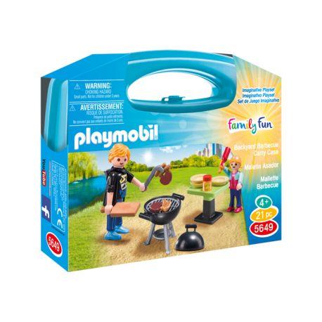 Sezon na grillowanie rozpoczęty:)    Zestaw barbecue Playmobil 5649 stwarza dziecku możliwość przeżywania świata w małym formacie.     Dzięki niebieskiej, małej przenośnej walizeczce możemy zrobić wielkie rodzinne grillowanie w ogródku, nad rzeką czy też na dużej, zielonej polanie..    Grillujemy z Playmobil:)    http://www.niczchin.pl/playmobil-summer-fun/3700-playmobil-5649-przenosna-walizka-barbecue.html    #playmobil #barbecue #grillowanie #zabawki #niczchin #kraków