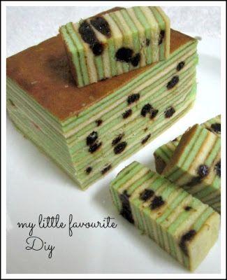 Prune Layer Cake ,, 黑枣千层糕