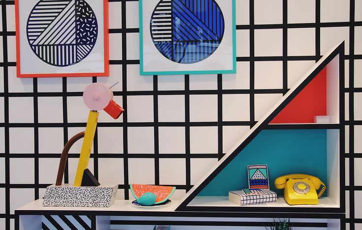 Ready for something completely different? Check out this upbeat trend, inspired by the Memphis Group: an Italian design collective that ruled eighties interiors with a colourful mix of art deco, pop art and postmodernism.