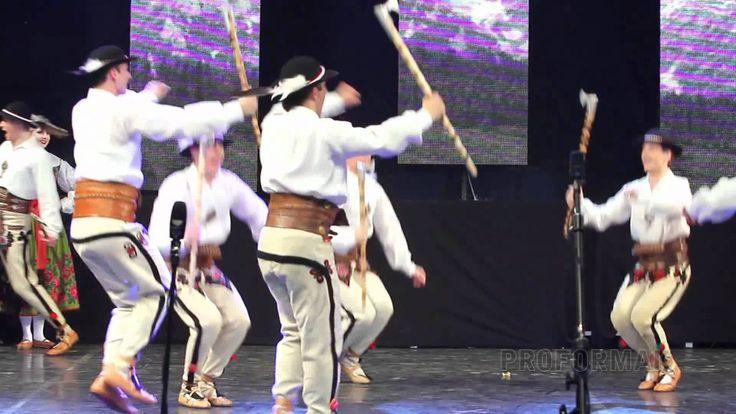 Dance of the Polish Górale highlanders - Zespół Mazowsze