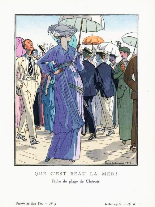 Chéruit robe de plage-juillet1913 - Louise Chéruit - Wikipedia, the free encyclopedia