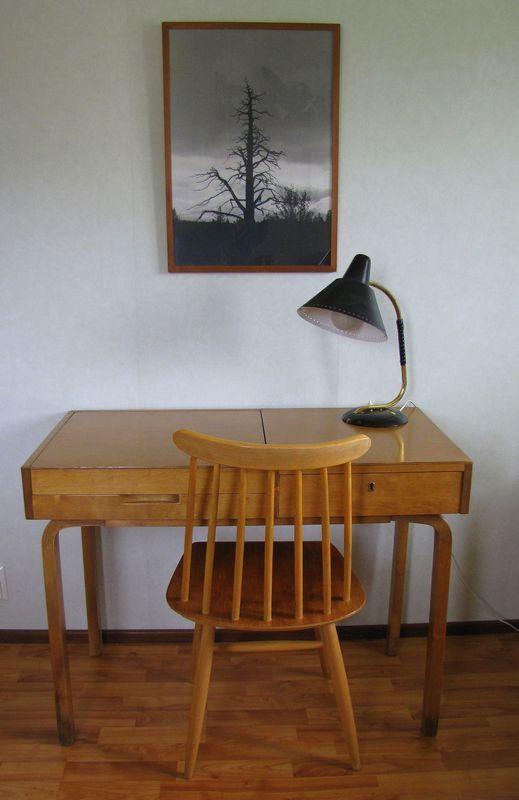 Dressing table, designed by Alvar Aalto.
