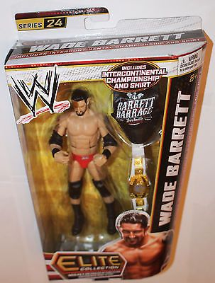 Wade Barrett Series 24 WWE Mattel Elite Wrestling Action Figure New