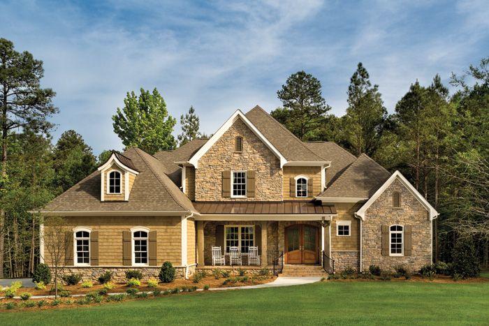 Mint hill luxury custom home model i like exterior colors for Custom home exterior design