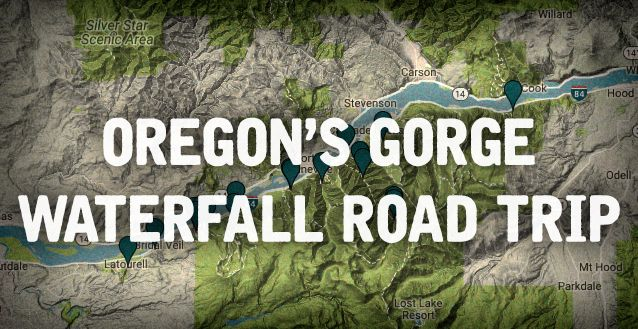 With at least 238 waterfalls to choose from in Oregon, you probably couldn't pick a better place to live if you love hiking in the great outdoors. The number of notable waterfalls in the Columbia River Gorge is close to 50, so it's obviously a bit of a challenge to whittle them down to a single road