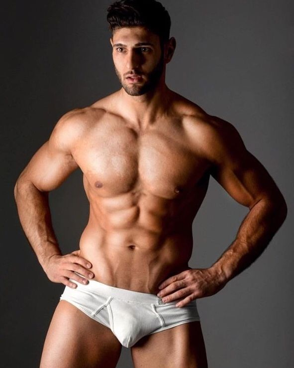 Handsome Muscle Studs Naked Self Shots
