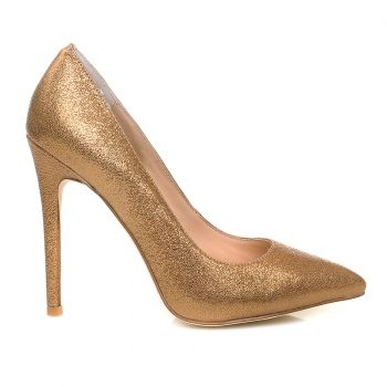 Pantofii tai sexy sunt aici! (Pantofi dama aurii, Il Passo, Shimmer&Shine)