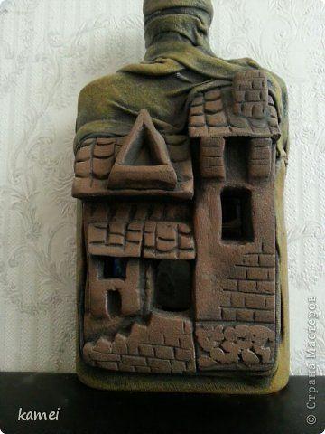 Декор предметов Лепка Моделирование конструирование воздушные замки Тесто соленое Ткань фото 2