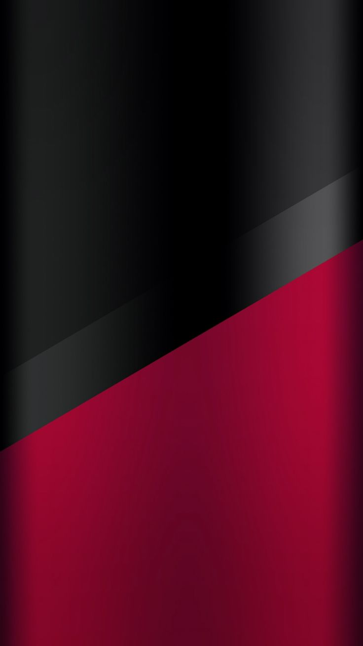 Dark S7 Edge Wallpaper 03 Black And Red Red Wallpaper