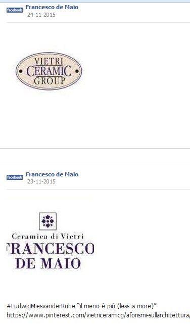 #ceramicafrancescodemaio | Vietri Ceramic Group | #vietriceramic su www.tegels
