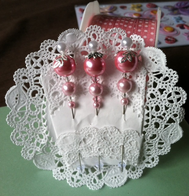 Floral Stick Pins