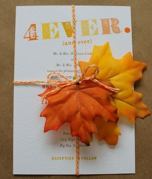 39 best wedding invitations images on pinterest fall wedding 22 gorgeous fall wedding invitations ideas solutioingenieria Image collections