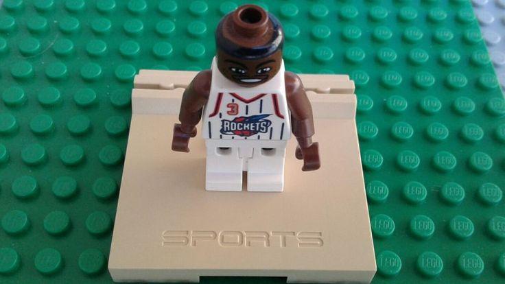NBA Sports Lego Steve Francis Minifigure Houston Rockets #3 Authentic | Toys & Hobbies, Building Toys, LEGO | eBay!