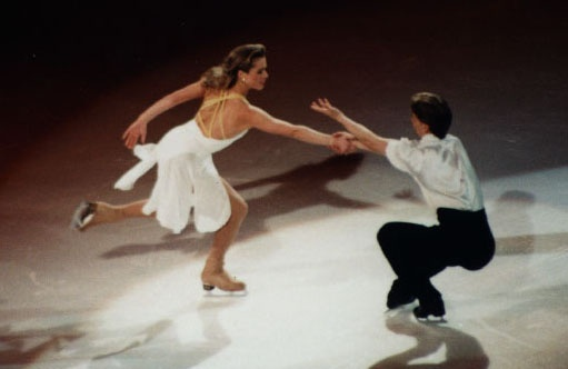 Shae-Lynn Bourne and Victor Kraatz.