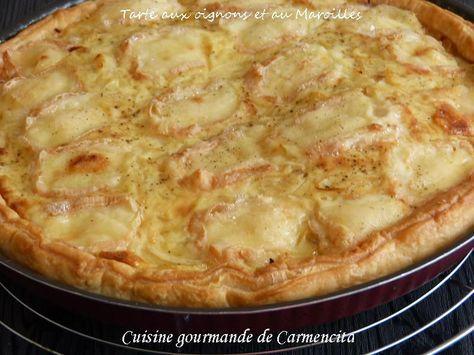 Tarte+aux+oignons+et+au+Maroilles