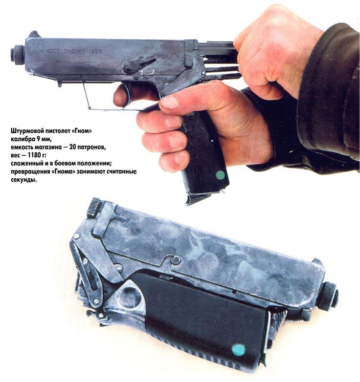 operatorbrian:  Last time I said something was Russian, I got hammered…. so… this is a Eastern European folding 9mm handgun…