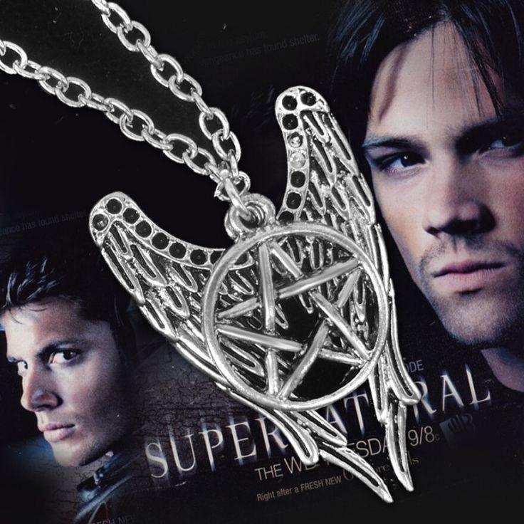 "Supernatural ""Angel Wings"" Vintage Necklace"