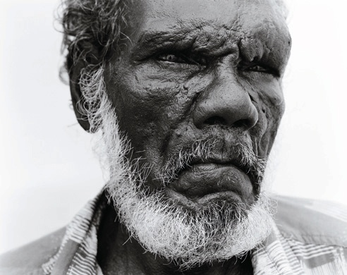 'Arthur, Wik Elder' from the series 'Returning to Places that Name Us' by Ricky Maynard - 2000