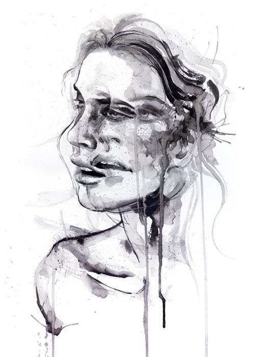 Agnes Cecile - I love the relationship between the mood and atmosphere of the painting and the colours used by the artist