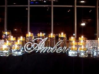 Buy Script Crystal Rhinestone Sweet 16 Candelabras® for your candle lighting ceremony.Call (631) 421-2286.  www.sweet16candelabras.com  info@sweet16candelabras.com