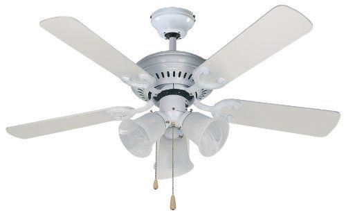 Canarm SEYMOUR WH Seymour 3 Light Ceiling Fan, 42 Inch Canarm Http: