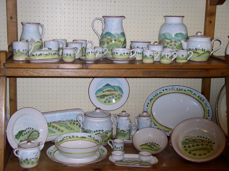The Toscana pattern shelf